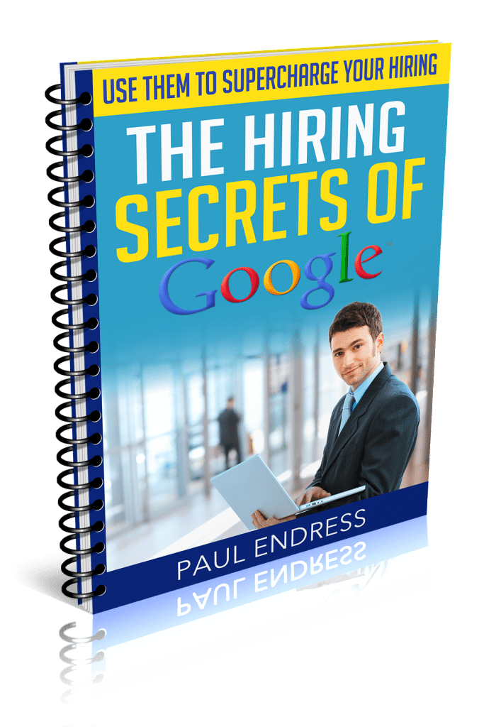 Hiring Secrets of Google