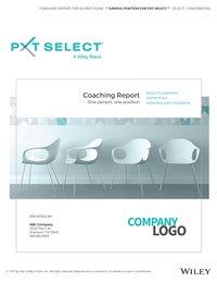PXT Select Coaching Report