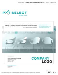 PXT Select Sales Comprehensive Selection Report