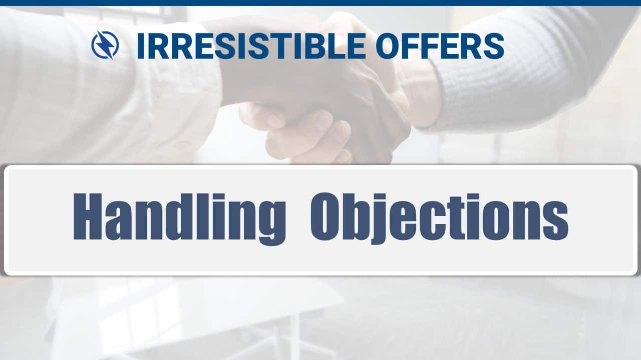 10 Handling Objections