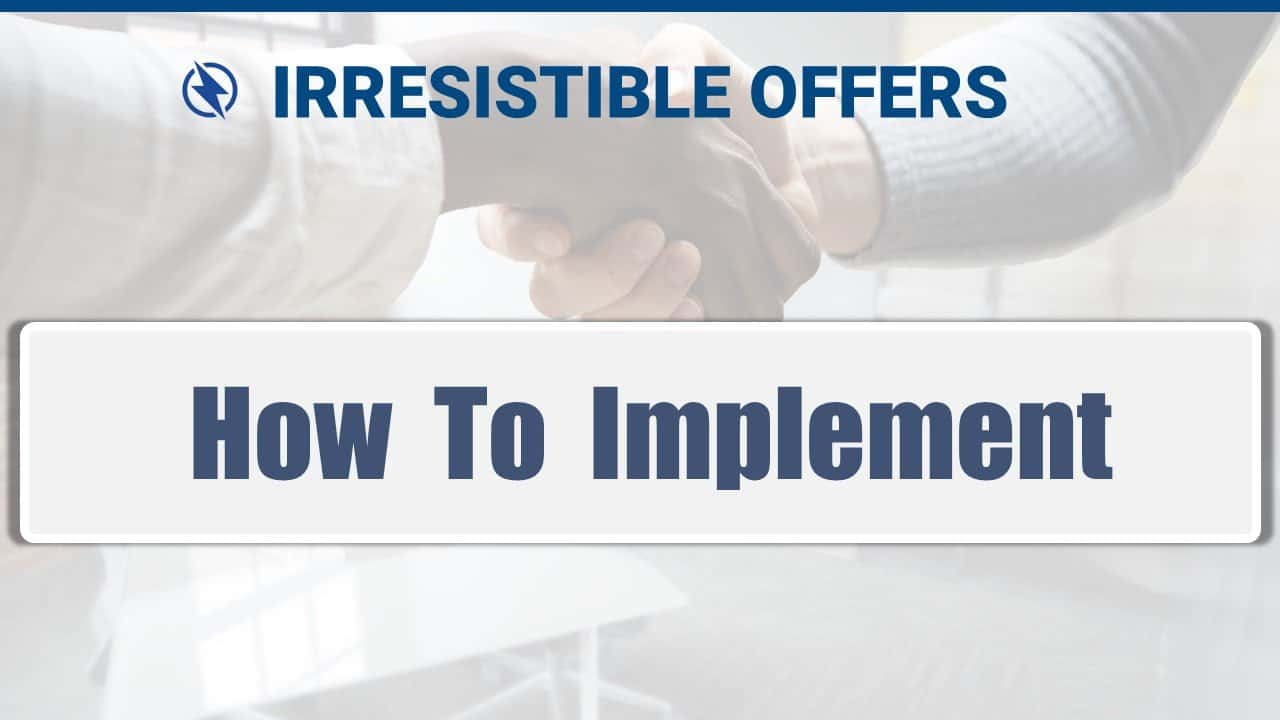 05 How To Implement