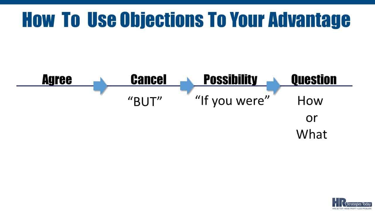 How to Use Objections To Your Advantage