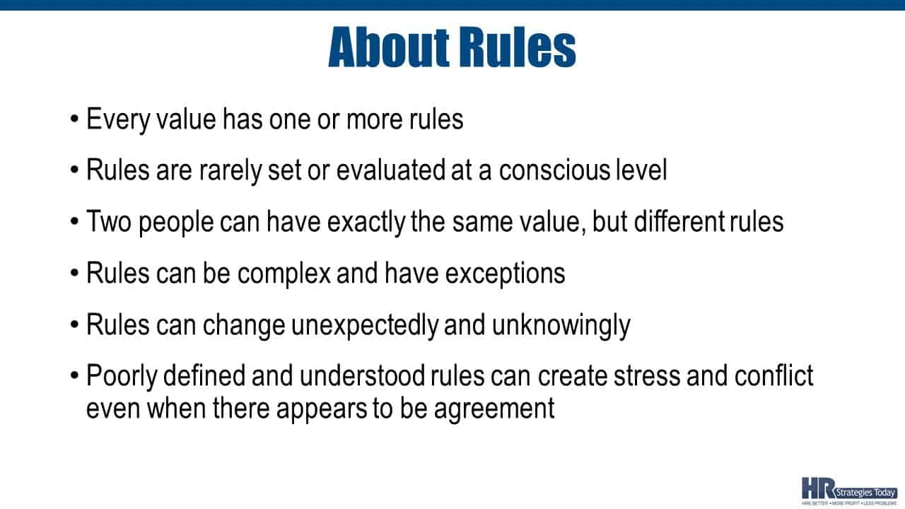 About Rules