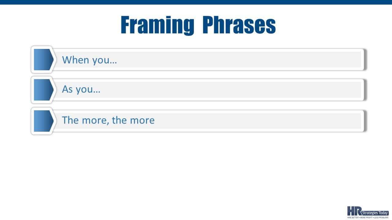 Framing Phrases