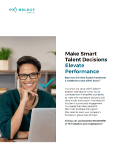 PXT Select Certification Brochure