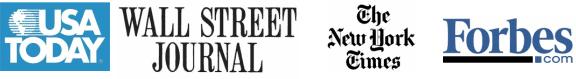 Press Coverage logos